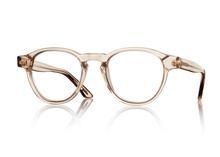 Beiga solglasögon hos en optiker på Lidingö